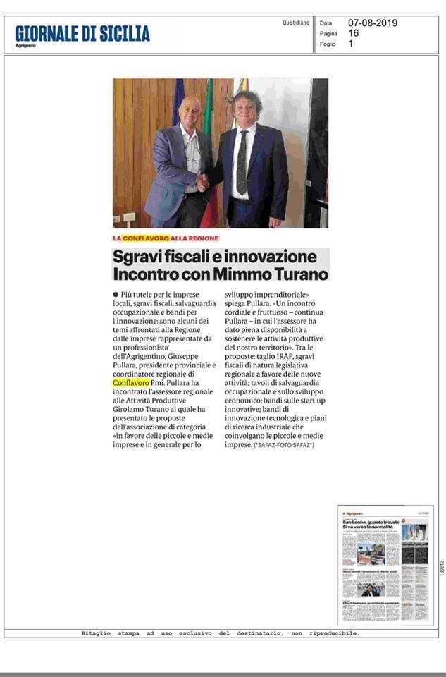 Rassegna Stampa 07-08-2019